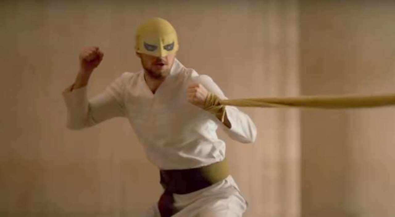 Iron Fist is donning the classic mask for season 2
