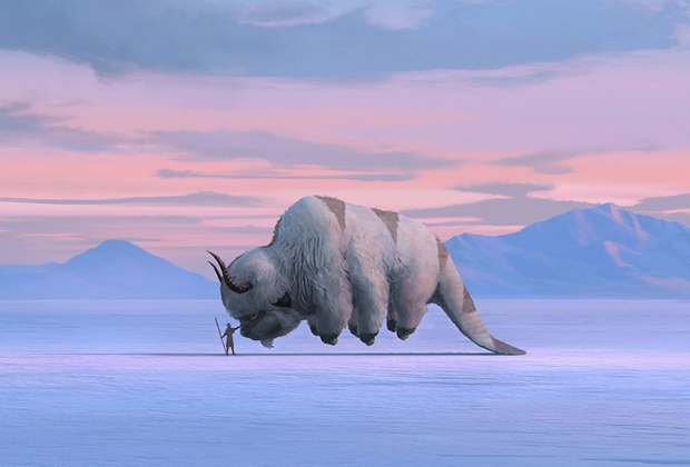 Avatar The Last Airbender concept art