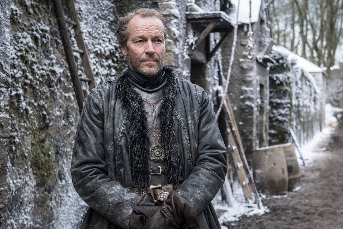 Jorah Mormont in Game of Thrones