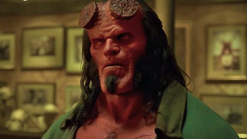 David Harbour as Hellboy