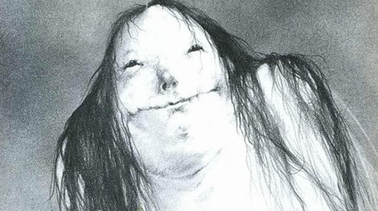 Scary Stories to tell in the dark drawing
