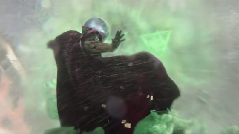 Mysterio Rescues Spider-Man In New 'Far From Home' Clip
