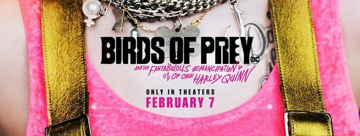 Birds Of Prey Debuts New Poster Featuring Harley Quinn Movie News Net