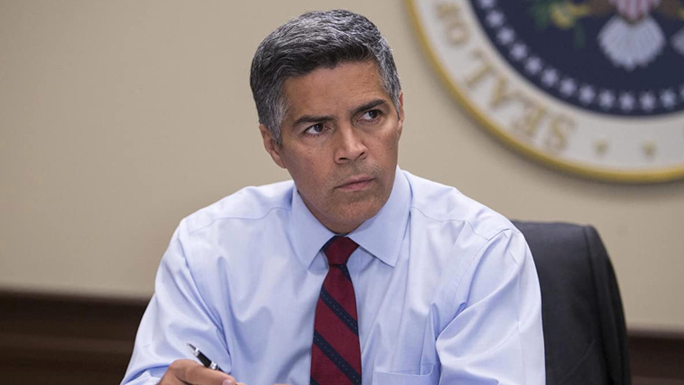 Esai Morales in HBO's The Brink